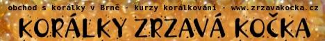 Korálky Zrzavá Kočka – korálkárna Brno, obchod s korálky a komponenty, kurzy korálkování